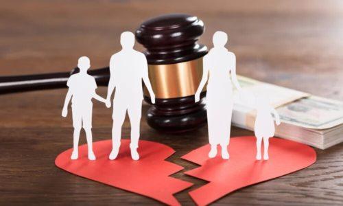 85 Расторжение брака и взыскание алиментов